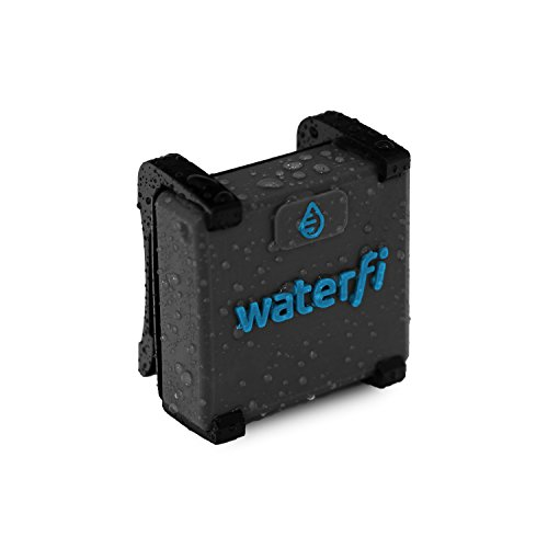 Waterfi Swim Tracker - Next Generation in Lap and Swim Stat Tracking - Increased Accuracy Over Wrist Mounted Swim Watches (Lap Track Counter)