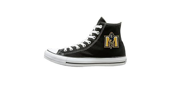 WS Unisex Classic Murray State University Races Slip-On Shoes Black