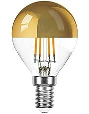 10 x LED filament druppels E14 hoofdspiegel gloeidraad warm wit 2700K Retrofit