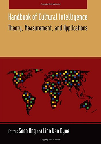 Cultural Handbook (Handbook of Cultural Intelligence: Theory Measurement and Application)