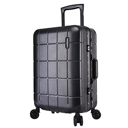 Luggage Trolley Cases Luggage With TSA Lock Hardshell Lightweight Carry-on Uprights Suitcase 360° Silent Spinner…