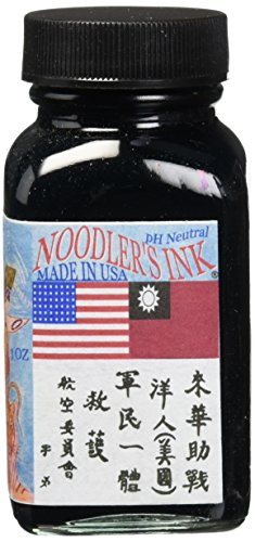 Noodlers Ink 3Oz Aircorp Blue Black