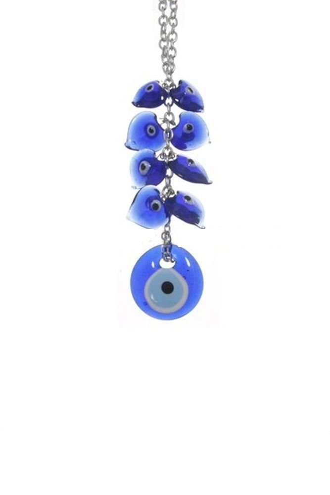 CF76885450, Evil Eye Office/Home Décor Desktop Talisman to protect persons and their belongings from envious looks. 6.75 inches tall