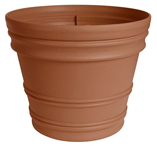 Fiskars 16 Inch Rolled Rim Pot, Color Clay
