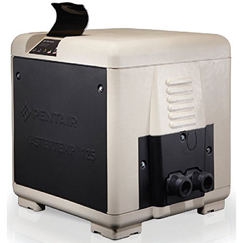Pentair 461059 Master Temp 125K BTU Natural Gas Swimming Pool Heater by Pentair