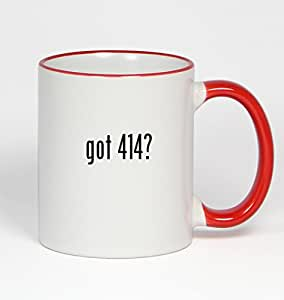 got 414? - 11oz Red Handle Coffee Mug