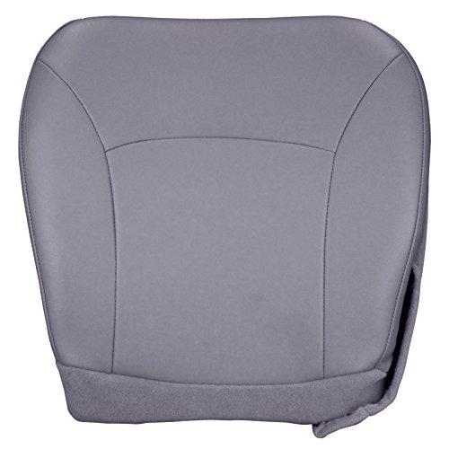 Ford Econoline Seats - The Seat Shop 2004-2008 Ford E250 Econoline Van Driver Bottom Replacement Vinyl Seat Cover - Medium Flint (Gray)