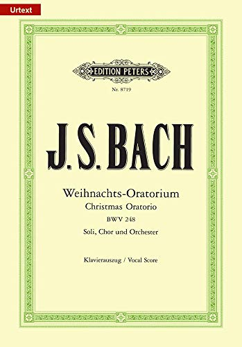 Christmas Oratorio BWV 248 (Vocal Score) (German Edition)