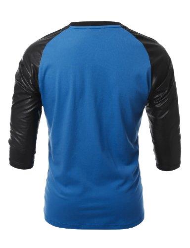 J.TOMSON Mens 3/4 Sleeve Raglan T-Shirt