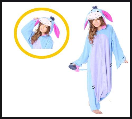 Eeyore Kigurumi - Adults Costume - Eeyore Costumes For Adults