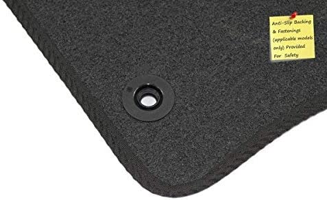 Connected Essentials 5031255 Black with Red Trim Tailored Heavy Duty Custom Fit Car Mats Kia Sorento 2010-2012