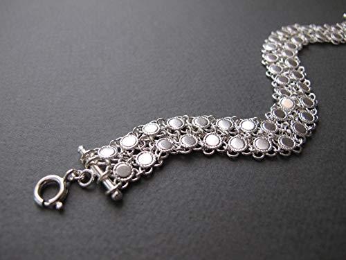 Filigree silver bracelet, Yemenite jewelry, Israeli jewelry, bohemian jewelry, boho chic bracelet, everyday bracelet, gift for her