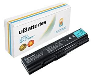 UBatteries Laptop Battery Toshiba Satellite L500-1Q8 - 6 Cell, 4400mAh
