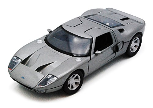 - Ford GT Concept, Silver - Motormax 73297 - 1/24 Scale Diecast Model Toy Car