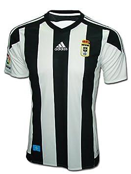 Adidas Real Oviedo Camiseta de Equipación, Hombre: Amazon.es: Deportes y aire libre