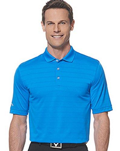 Callaway Men's Basic Short Sleeve Opti-Vent Open Mesh Polo Golf Shirt