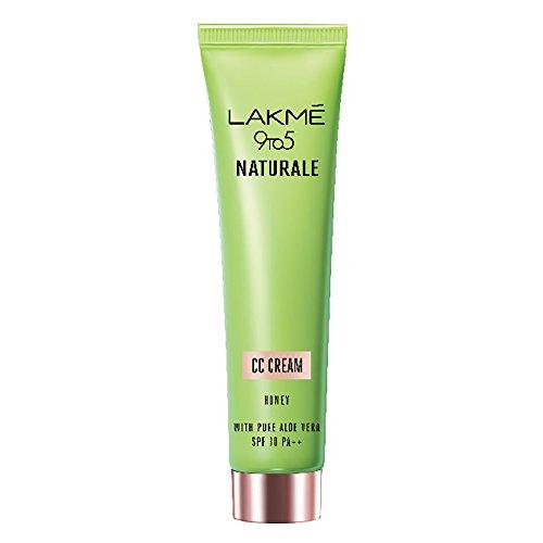 Lakme 9 to 5 Naturale CC Cream, Honey, 30g