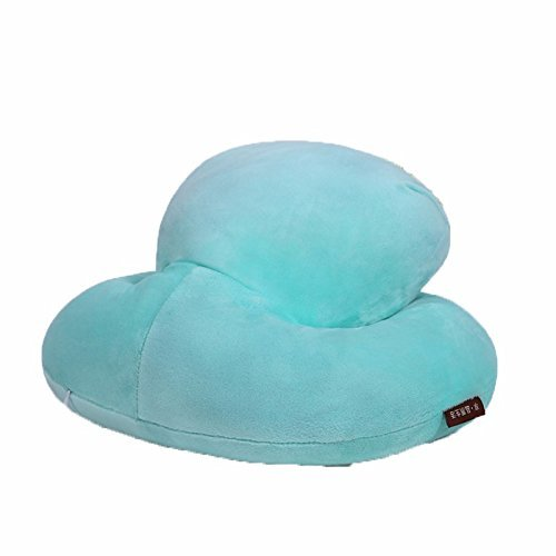 HOMEE Lunch Only Afraid of Sleeping Pillow Pillows Students Were Sleeping Pillow Office Afternoon Nap Lunch with Pillow Cushion, 352616Cm (Purple),The Results Of The Green,(393118Cm) by HOMEE