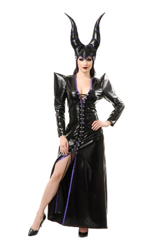 Charades Women's Witchy Woman Costume Set, Black, (Witchy Woman Costumes)