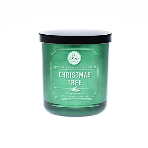 DW Home 10 oz Christmas Tree 1 Wick Candle Holiday Collection