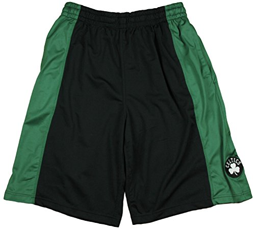Zipway NBA Men's Boston Celtics Basketball Shorts, Black (Large)