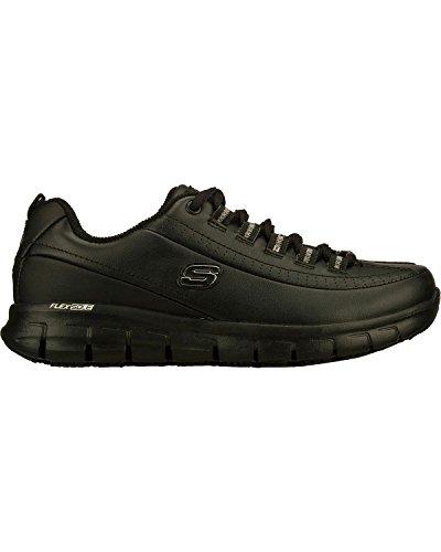 Skechers Women's Black Sure Track Trickel Slip Resistant Work Shoes