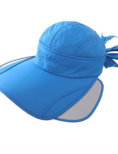 Outdoor Adjustable Caps Sun Visor Summer Travel ONESIZE UV 's Climbing Cap Women Anti Bow Ride Mountain Shade GSM 76xwzqf7