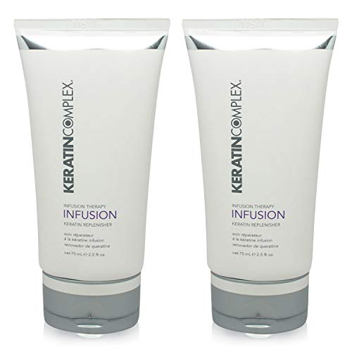 - Keratin Complex Infusion Therapy Keratin Replenisher 2.5 Oz 2 pack