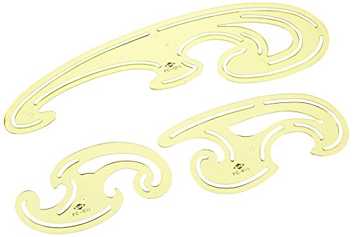 Alvin FC33 3Piece French Curve Set