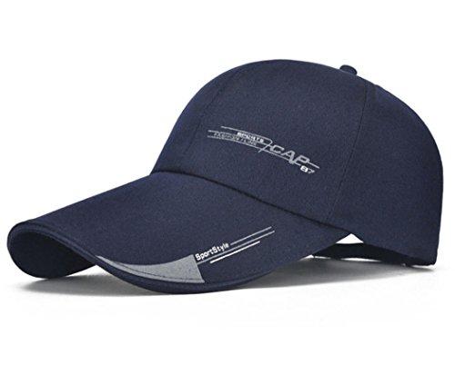 para Ocio Capucha para Cadera de Sol la Protección Sombrero Wy Aire Solar para Deportivo la Bufanda Sombrero el Gorra para Sombrero Azul Béisbol Escuela el Gorra de de Libre Sombrero Sombrero X7nEfw
