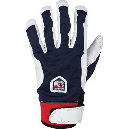 Hestra Men's Ergo Grip Active 5 Finger Glove, Navy/Off White, Size - Gore White Glove