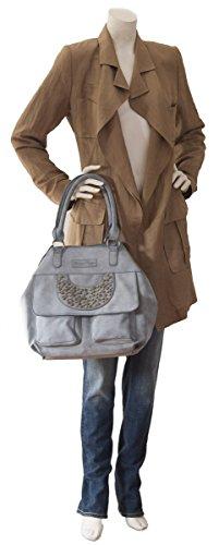 Vintage Cm Lale De Bolso Preußen Fritzi Grey Mano 50 Aus qUvxtw87
