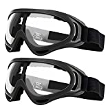 2 Pack Children's Safety Glasses with Anti Fog and UV Protection Perfect for Foam Blasters Gun