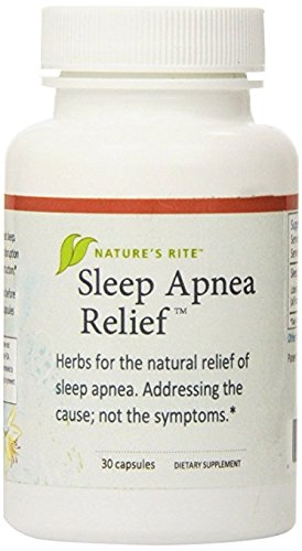 Natures Rite Sleep Apnea Relief All Natural Supplement