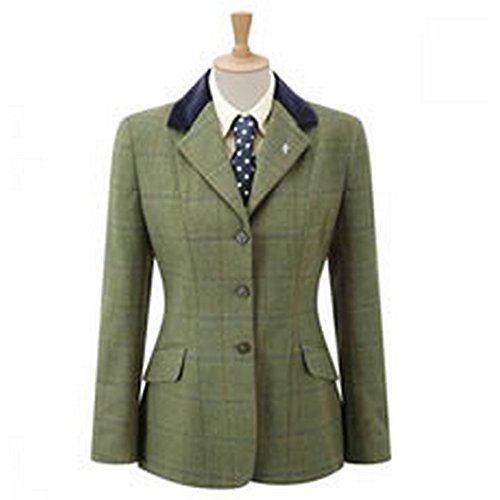Caldene Womens/Ladies Silverdale Tweed Competition Jacket (42 Inch) - Shops Silverdale