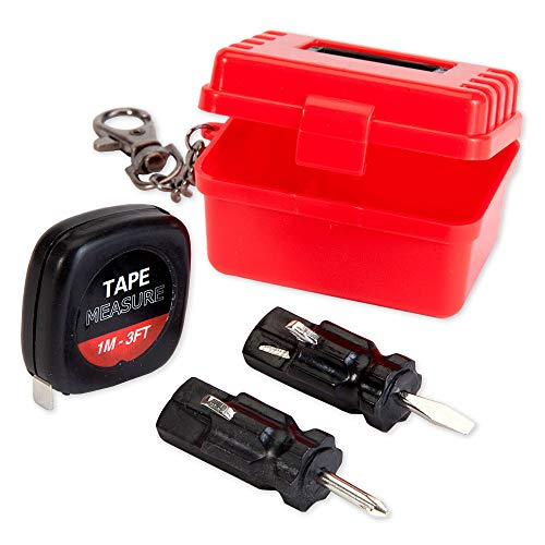 Compact Travel Tool - Bits and Pieces - Mini Travel Tool Kit - Portable Multifunctional Compact Tool Kit for a Handyman