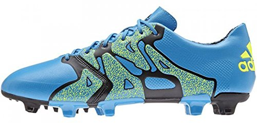 Adidas X 15.1 Fg/Ag Leather - solblu/syello/cblack