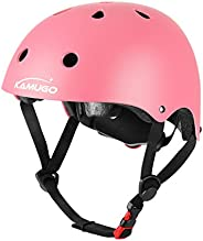 KAMUGO Kids Bike Helmet – Adjustable from Toddler to Youth Size, Ages 3-8 Boys/Girls Multi-Sport Safety Cyclin
