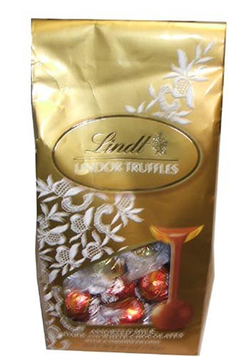 Lindt Lindor Truffles, Assorted Milk, Dark and White Chocola