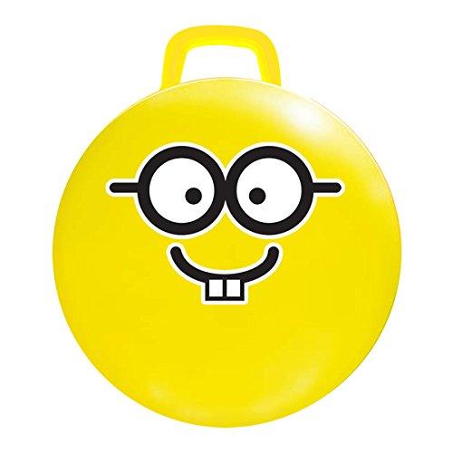 18-inch Yellow Emoji Jumping Ball