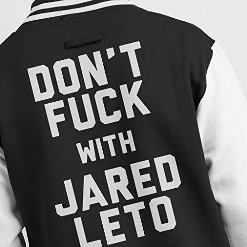 Black Jared With white Varsity Dont Leto Coto7 Jacket Fuck Men's wgqZ86xHtn