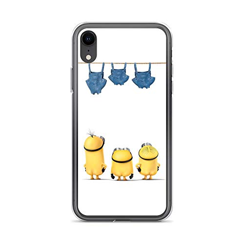 iPhone XR Pure Clear Case Cases Cover Moon Stealer Funny Cartoon ()