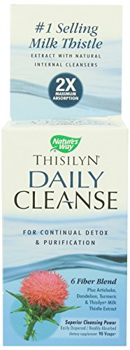 90 Daily Capsules Cleanse - Natures Way, Thisilyn Daily Cleanse, 90 Veggie Capsules