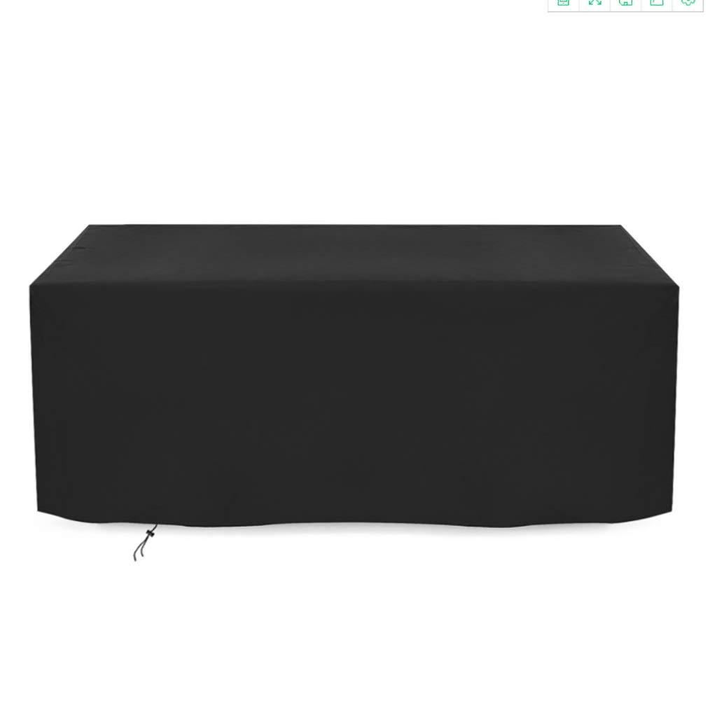 210D Oxford-Stoff Verschiedene Gr/ö/ßen zur Auswahl Size : 80x66x100CM schwarz wasserdichter UV-Schutz Evadsm Gartenm/öbel-Set Terrassenabdeckung