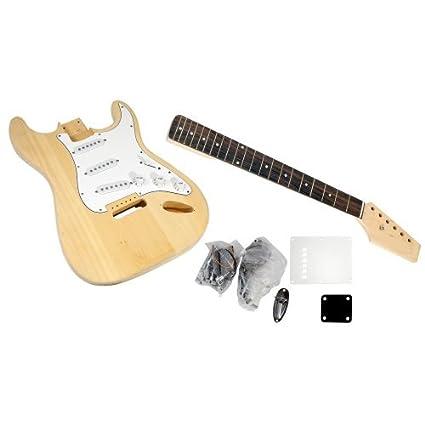 PYLE-PRO Kit PGEKT18 inacabado de la guitarra eléctrica