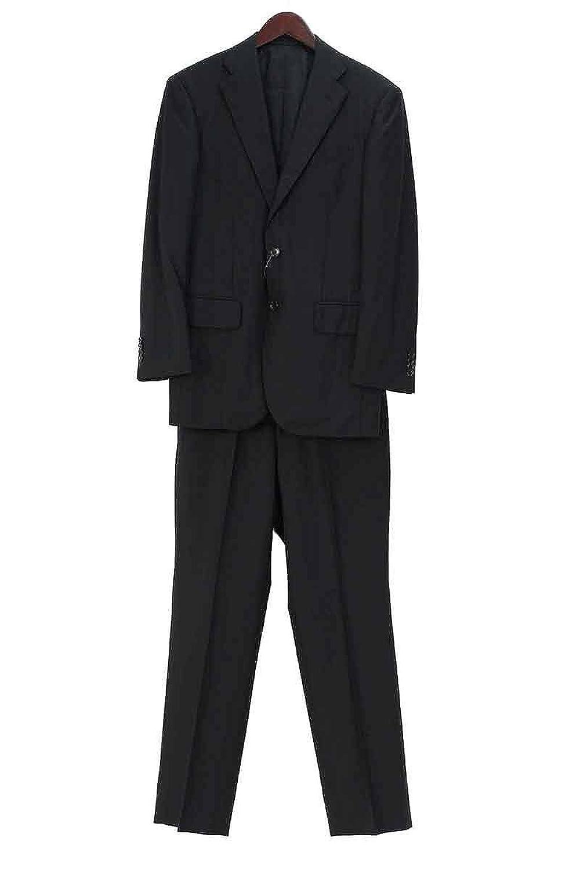 (ユナイテッドアローズ) UNITED ARROWS ノッチドラペル2Bシャドウストライプセットアップスーツ(44/ブラック) 中古 B07DPM87Z2  -