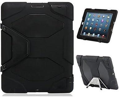 Letra G Defender Plastic and Drop Militar TPU Resistencia estuche r¨ªgido con caja al por menor para el iPad 2/3/4 , Negro: Amazon.es: Electrónica