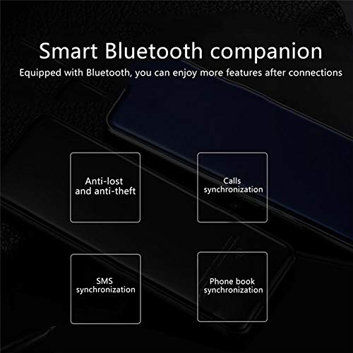 Mini Ultra-Thin Mobile Cell Phone Dual-SIM Smartphone with Phone Cover and Screen Film Full Touch Screen Small Mobile Phone for Students Elder Child (Blue)