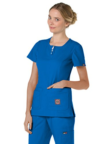 KOI lite 317 Women's Serenity Scrub Top Royal XS