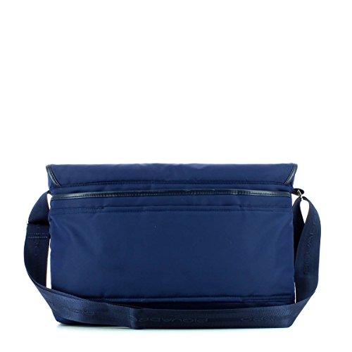 Piquadro Celion Messenger bolso bandolera 39 cm compartimento portátil Laptop blau, blau